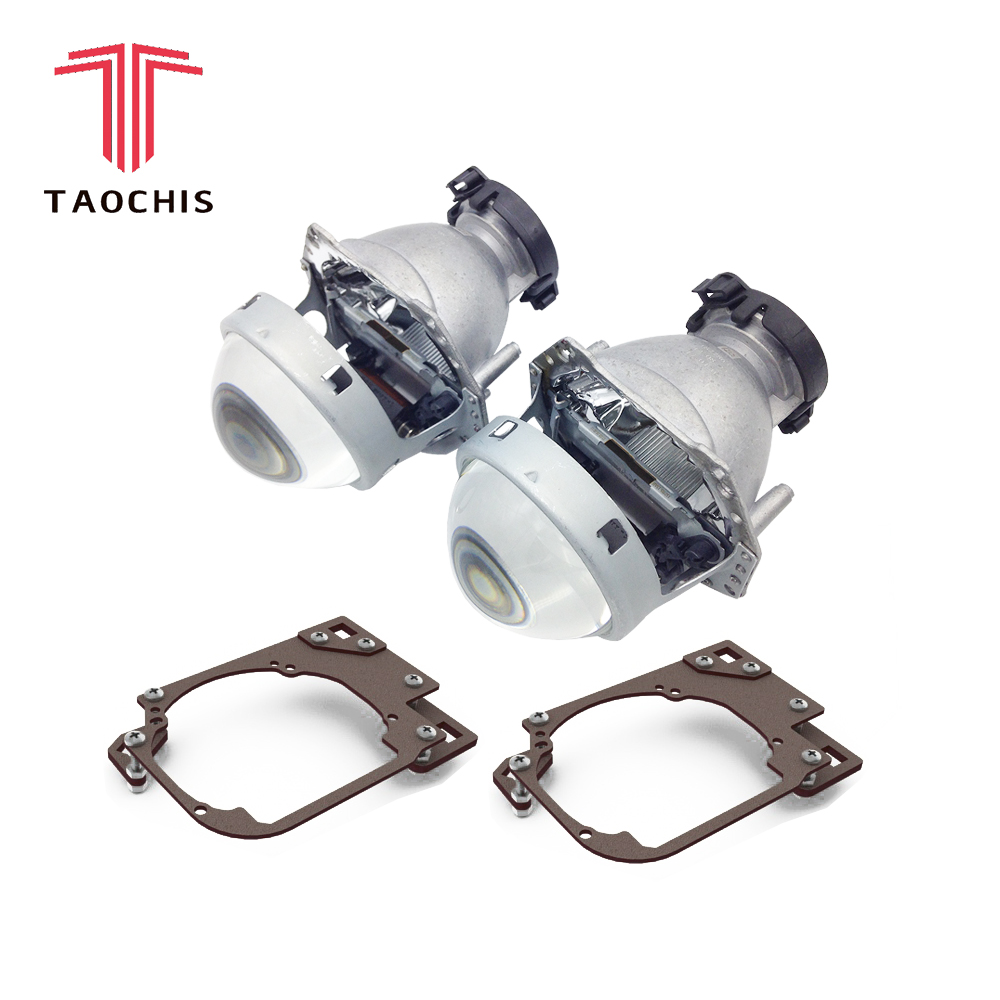 TAOCHIS Car Styling transition frame adapter Hella 3R G5 Projector lens retrofit Bracket for HYUNDAI IX55