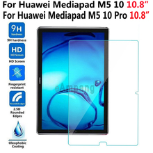 Tempered Glass for Huawei Mediapad M5 10 Pro 10.8 Screen Protective Film Tablet Screen Protector for Huawei Mediapad M5 10 Pro