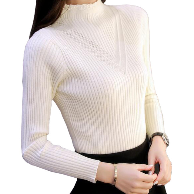 GIGIGO Thick Warm Autumn Winter Women Sweater M-XL Fashion long female sweater High Quality Knitted ladies Pullovers Jumper