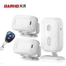Carrilhão de segurança para residência, sensor de entrada infravermelho sem fio infravermelho ir, sensor de alarme