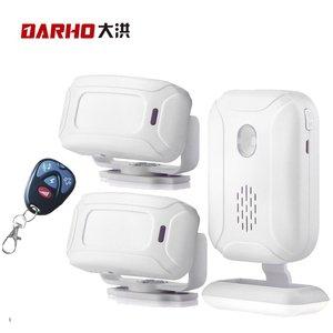 Image 1 - Darho 36 Ringtones Shop Store 홈 보안 Welcome Chime 무선 적외선 IR 모션 센서 알람 엔트리 초인종 센서