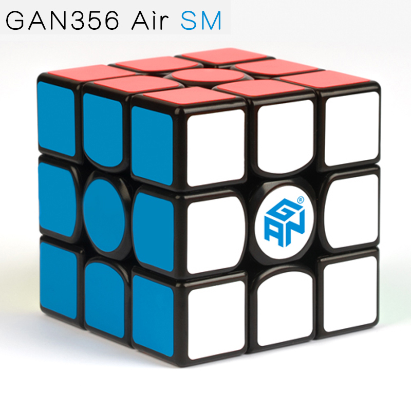 Gan356 Air SM 3x3x3 Speedcube Black Magic Cube GAN Air SM Magnetic 3x3x3 Speed Cube Gans 356 Air SM Puzzle Toys For Children dr gans мойка кухоннаяdr gans tekno 650 терра