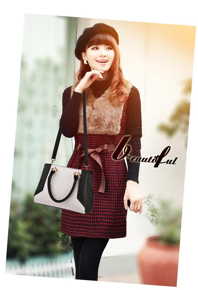 Nevenka Women Handbag PU Leather Bag Zipper Crossbody Bags Lady Bag High Quality Original Design Handbags Top-Handle Bags Tote04