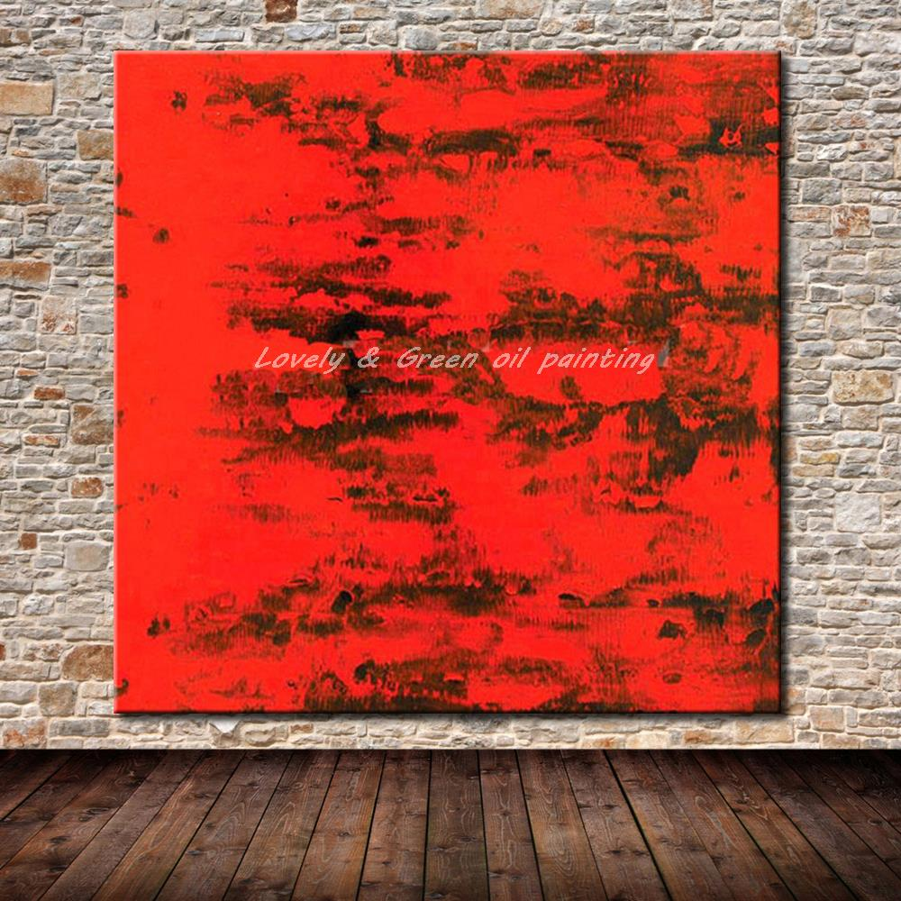Buy modern artist hand painted abstract - Oil painting ideas for living room ...