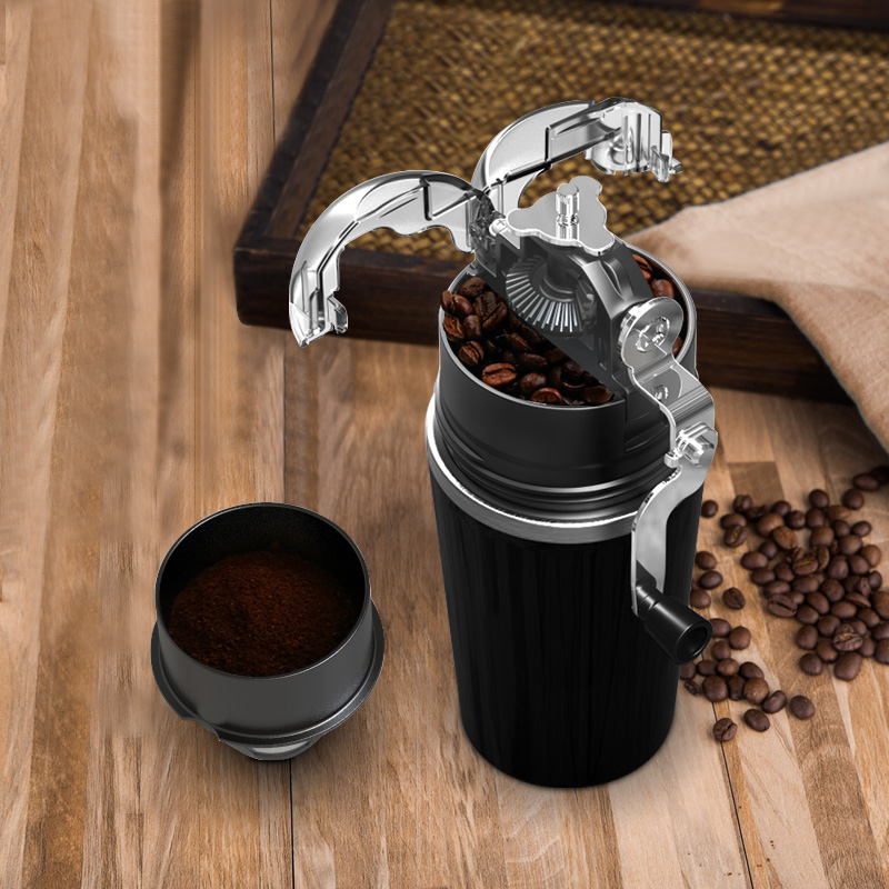 Coffee bean grinder Coffee grinder Grinder Coffee machine Coffee bean mill Small crusher Ceramic grinding core washable manual coffee grinder ceramic coffee bean grinder grinding machine jade white ceramic handset mill