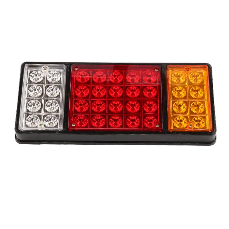 1 pair 12V 36 LED Rear Truck Auto Car Van Lamp Tail Light Trailer Stop Indicator Lamp 12v loud horn siren 5 sounds tone pa system 60w max 300db for car auto van truck