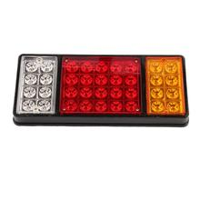 1 pair 12V 36 LED Rear Truck Auto Car Van Lamp Tail Light Trailer Stop Indicator Lamp