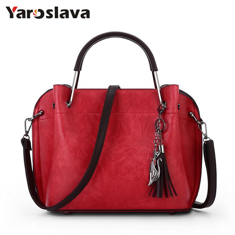 Brand Designer Women bag High Quality PU leather Handbags Vintage Small Messenger Bag With Charm Metal Handle Bag LL300