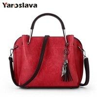 Brand Designer Women Bag High Quality PU Leather Handbags Vintage Small Messenger Bag With Charm Metal