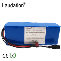 laudation 36V 8AH electric bicycle battery 10S4P 36V 8ah 9.6ah 10ah 12ah for motorcycle scooter with 15A BMS