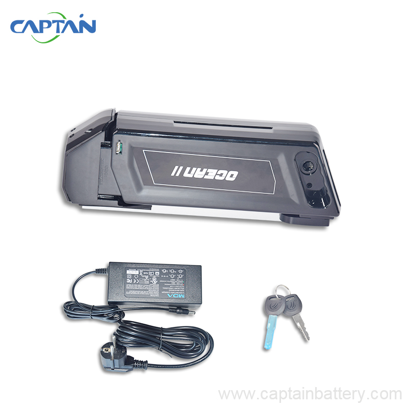 Ebike 36V 250W-500W lithium <font><b>battery</b></font> 36V 10AH <font><b>Case</b></font> down tube electric bicycle lithium <font><b>battery</b></font> USB For electric fat <font><b>bikes</b></font>