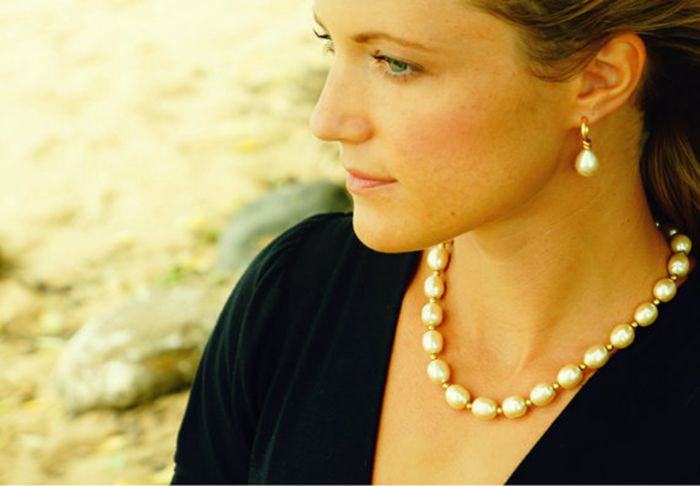 Classique Teardrop Perles Dangle Boucles D'oreilles Princesse Diana - Bijoux fantaisie - Photo 4