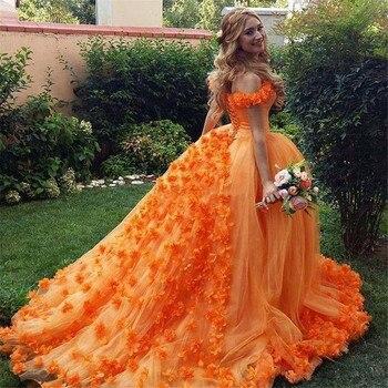 6de514871b BONJEAN Puffy cariño Vestido de Quinceanera vestidos 2019 nuevo 3D flores  princesa Vestido de Debutante 15 Anos dulce 16 Vestido