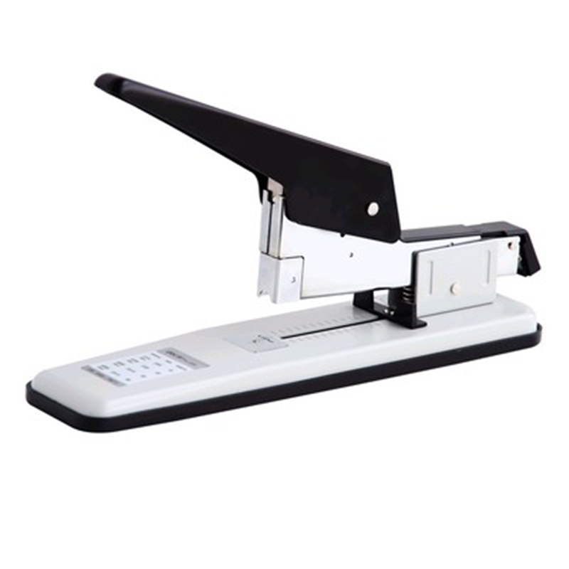 DL Power 0390 stapler, thickening and growing stapler, large heavy-duty thickening book machine, 80 pages Exquisite office deli manual heavy duty stapler 50 pages thick repair book make book staplers school office binding machine supplies dropshipping
