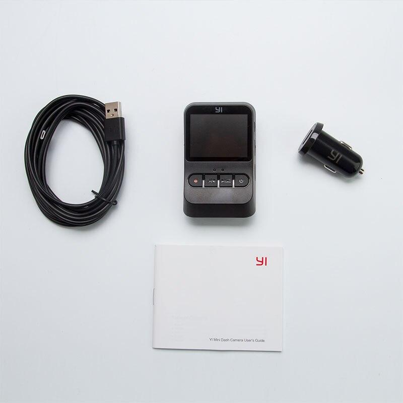 YI Mini Dash Cam 1080 p FHD Tableau de Bord Enregistreur Vidéo Wi-Fi Voiture Caméra avec 140 Degrés Objectif grand-angle nuit Vision G-Capteur - 6