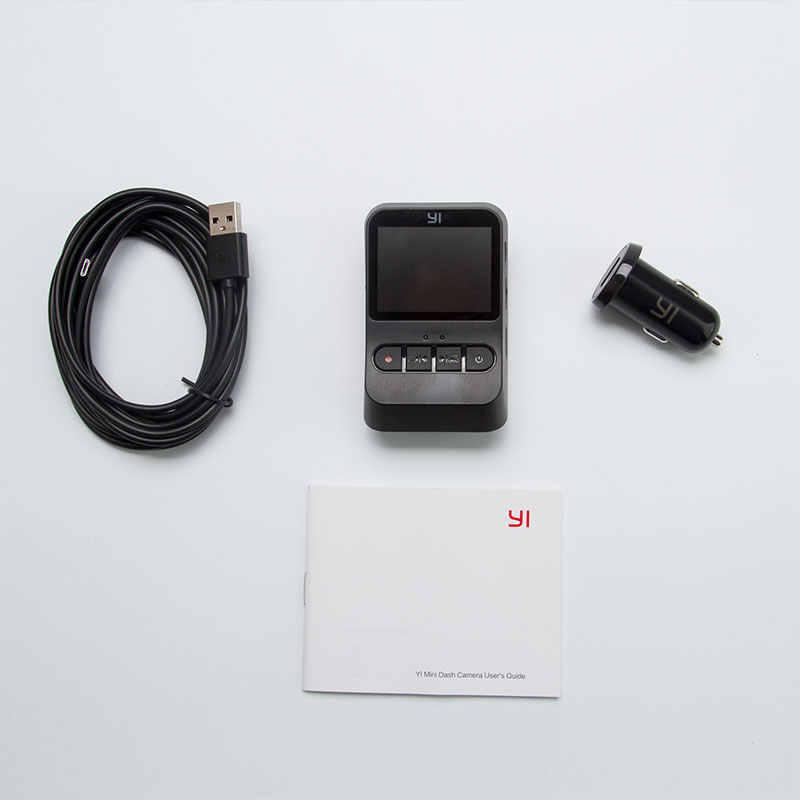 YI Mini Dash Cam 1080 p FHD видеорегистратор Wi-Fi Автомобильная камера с широкоугольным объективом 140 градусов ночное видение g-сенсор