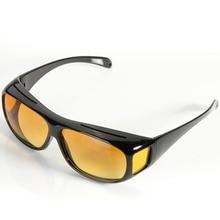 Новые HD Линзы унисекс Солнцезащитные очки УФ-защита Ночное видение вождения Очки на рабочем месте Предметы безопасности перчатки