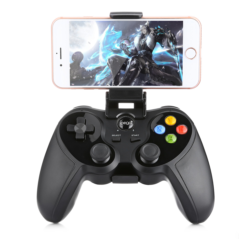 iPega PG 9078 Wireless Bluetooth Gamepad Game Controller Pad Adjusted Holder for Android iOS PC Smartphone PK 8Bitdo Game Pad цены онлайн