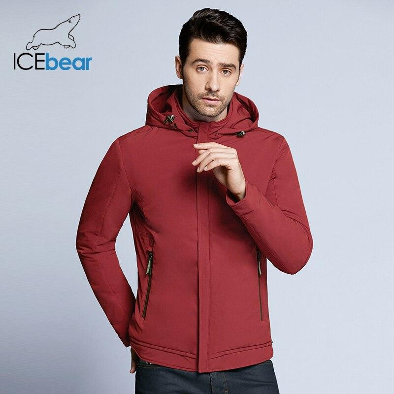 ICEbear 2018 nuovo autunno giacca da uomo di alta qualità uomo casual cappotto imbottito allentato giacche di marca da uomo BMWC18099D