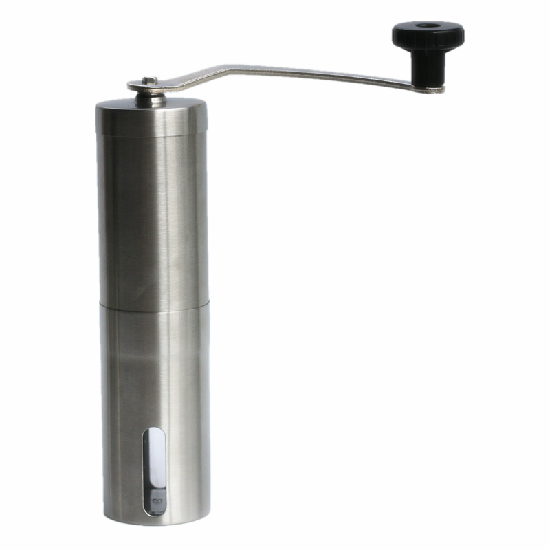 Stainless Steel Manual Coffee Grinder Household Hand Grinder Grinder Small Portable Mini Washing portable household electric coffee furnace oven mini 500w stainless steel small coffee stove stew pot cooker machine us eu plug