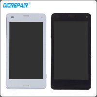4 3 Inch Black White LCD For Sony Xperia Z3 Mini Compact D5803 D5833 LCD Display