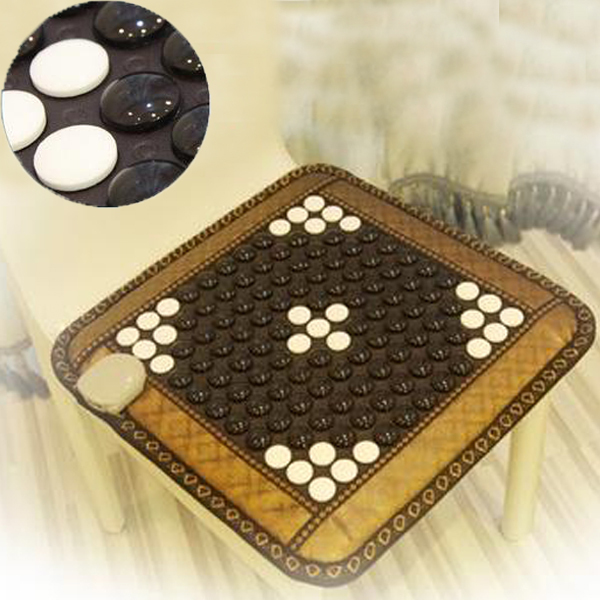 Most Popular Tourmaline Mats In Thailand 2016 Jade Heated Cushion Germanium Tourmaline Mats Physical Therapy Mat for Health Care best selling korea natural jade heated cushion tourmaline health care germanium electric heating cushion physical therapy mat