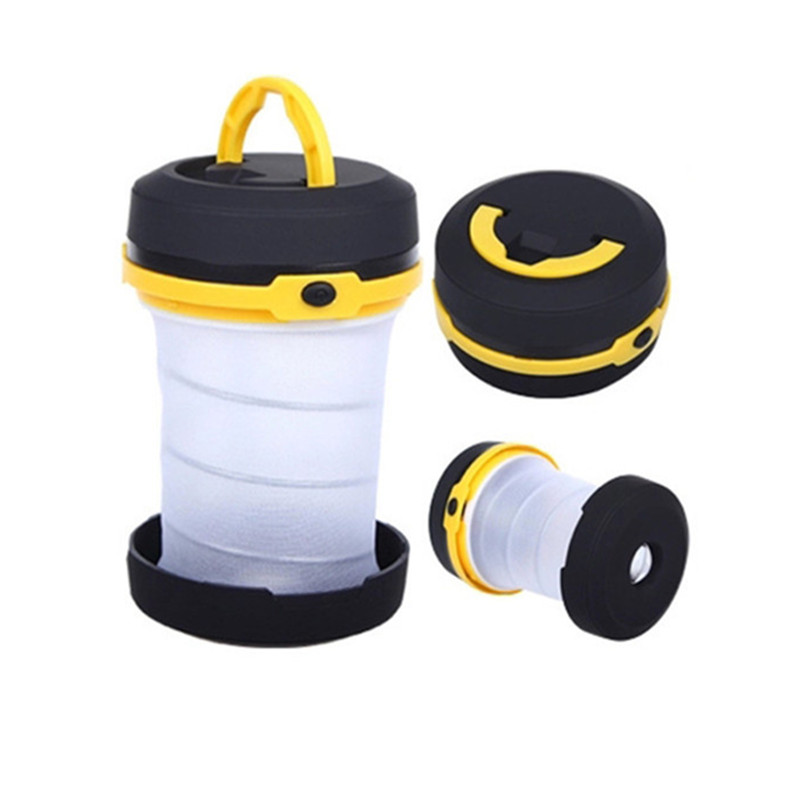 Multifunction Retractable Outdoor Camping Lights LED Flashlight Portable Lantern Mini Tent Light Emergency Lamp Torch Light