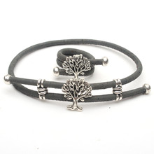 Anel e pulseira em cortiça árvore da vida