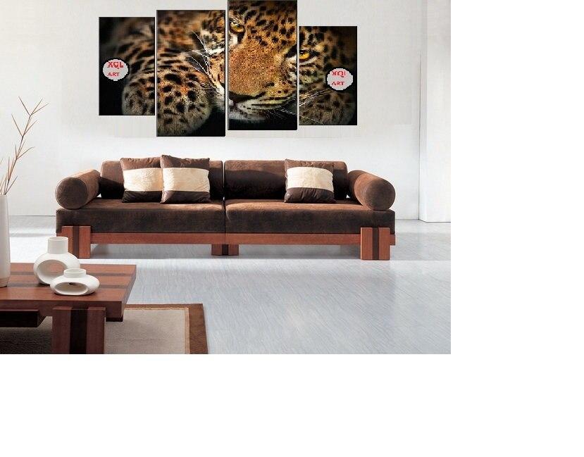 Xql art 4pcs set framed modern modern home decor for Is ready set decor legit