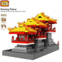 LOZ Ideas 740pcs Assembly Daming Palace Chinese Famous Architecture Toy Diamond Blocks Building Bricks for Children Kids Gifts