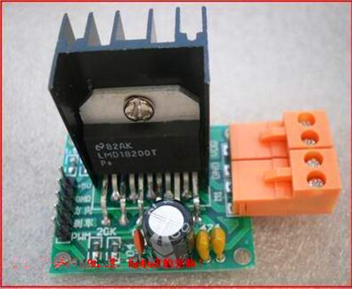 FREE Shipping!!!  LMD18200 car DC motor drive / motor drive module / H-bridge / Electronic Component electronic component