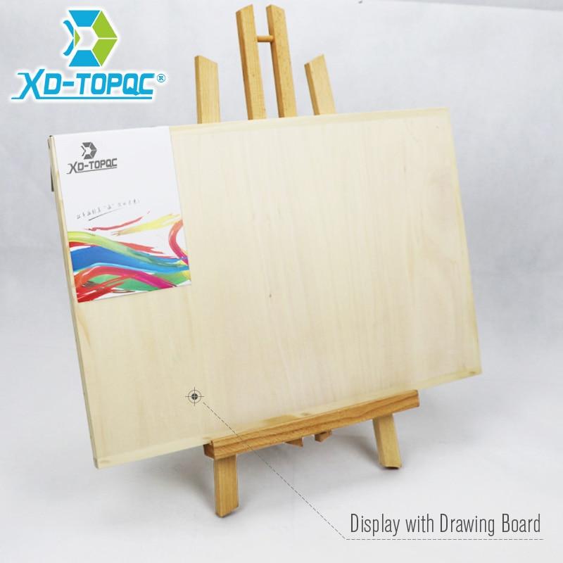 XINDI Pine Wood Easel 3 izmēri Galda zīmēšanas mākslinieks Koka - Skolas un izglītības piederumi - Foto 6