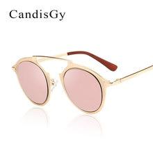 Nuevo single puente gafas de Sol Mujeres Diseñador de la Marca Gafas de Sol de Espejo Hombre Mujer Moda Shades UV400 Tienda online