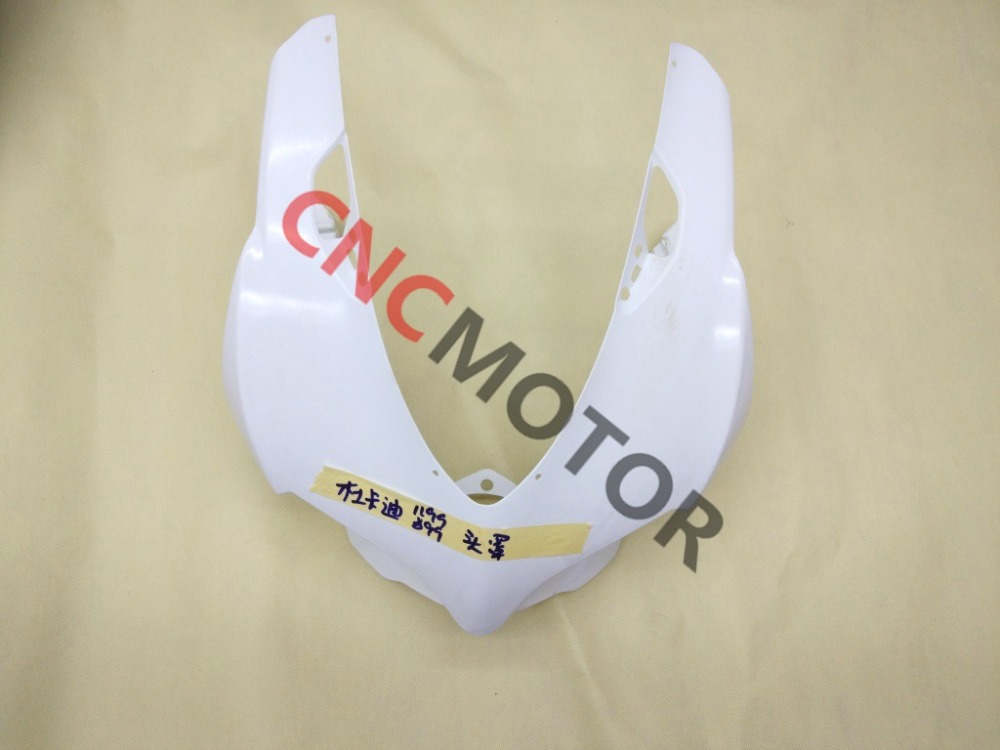 Unpainted Motorcycle Upper Front Fairing Cowl Nose For DUCTATI 1199 1199S 899 Body Work