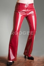 Latex jeans for lady