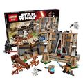 LEPIN 05009 438 Unids figuras de Star Wars Batalla sobre Takodana Kits de Edificio Modelo Bloques de Ladrillos de Juguete Compatible Con Lepin 75140