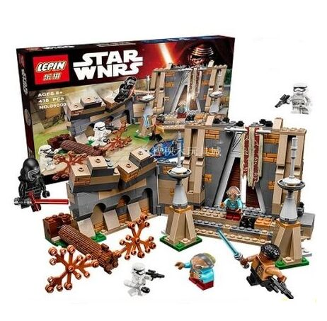 LEPIN 05009 43Star Wars Battle on Takodana Model Building Kits Minifigures Blocks Bricks Toy Compatible With Lepin 75140