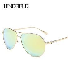 HINDFIELD 2017 Moda gafas de Sol Polarizadas Las Mujeres Diseñador de la Marca de La Vendimia Deporte Gafas de Sol Para Hombre gafas de sol hombre