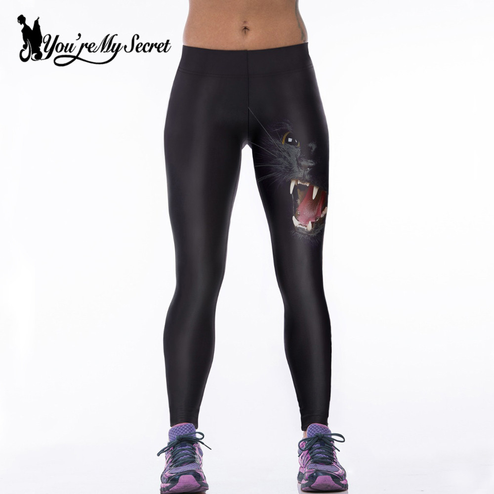 [You're My Secret] Sexy Fitness Leggings Women Autumn Gothicothic New Arival Leggins Knitted Skinny Leggins Adventure Time Pants
