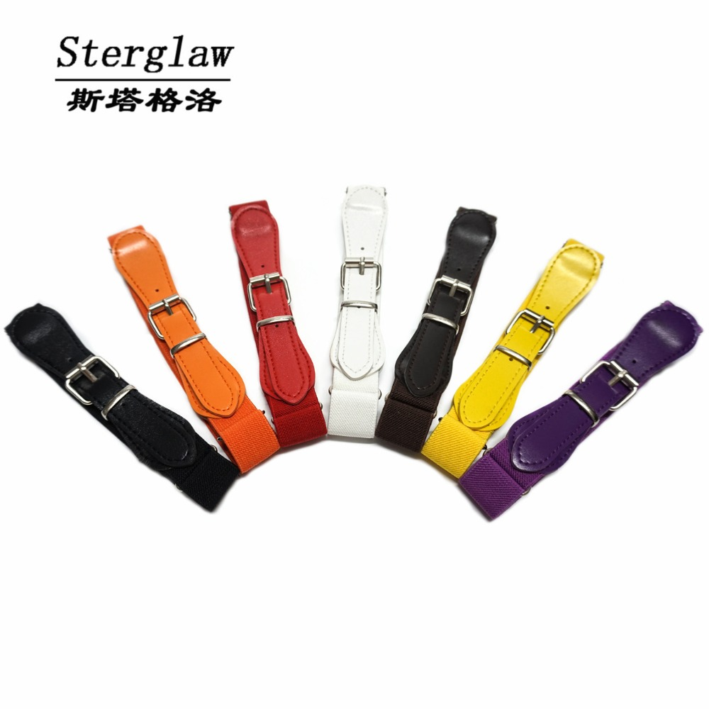 Kids Children Boys Girls Elastic Waist Belt 2018 childrens Belts Multicolor Stretch Wais ...