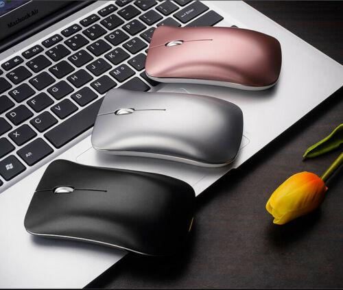 HobbyLane Rechargeable Wireless Mouse 2.4GHz Rechargeable Optical Mouse For Macbook Laptop PC Tablet D29