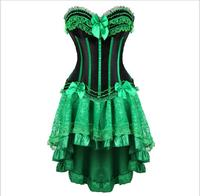victorian corset dress gothic sexy burlesque exotic tutu skirt corset party long corset overbust bustier