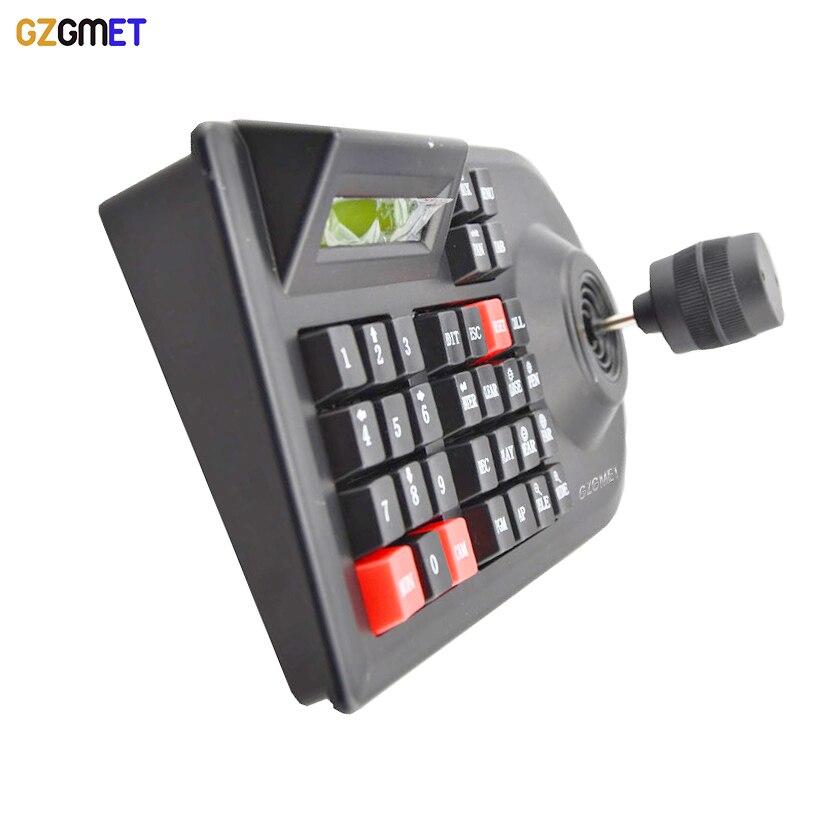 GZGMET 64 установить аналоговые Сетевые камеры видеонаблюдения ручка джойстик видеорегистратор ПТЗ 3Д интерфейс RS485 скорость купола компания Pelco-Д / Р камеры контроллер клавиатуры