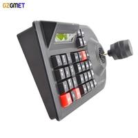 GZGMET 64 Zestaw DVR CCTV Analogowa Kamera Sieciowa Uchwyt Joysticka 3D RS485 PTZ Speed Dome Pelco-D/P Camera Controller klawiatura