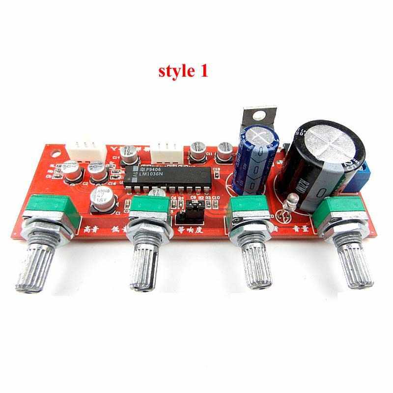 LM1036 Preamp Amplifier Audio Tone Preamplifier Board Preamplificador NE5532 Potentiometer Separate A8-001