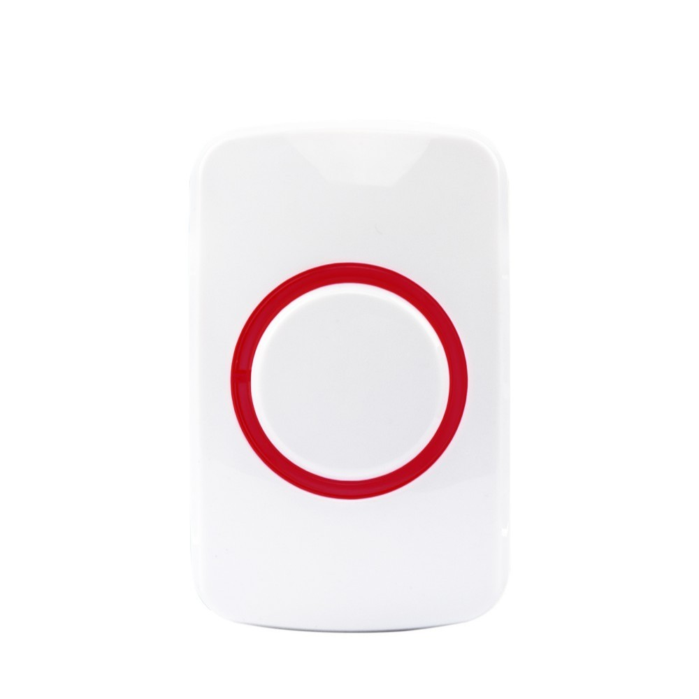 433MHz One-key Panic Emergency Call Button for Vcare Wireless Smart Home Alarm Security System with Button & Pull Type Alarm