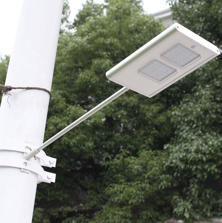 30 светодиодный солнечные Панель светодиодный Улице Солнечный свет Сенсор освещения Открытый Путь стены чрезвычайной лампы безопасности пятно света Luminaria