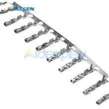 1000 piezas. 2,54mm Dupont puente Cable de la carcasa de Terminal de contacto hembra Crimps