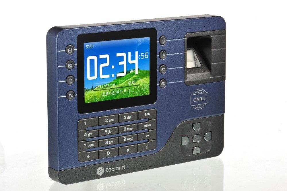 Sicherheit & Schutz A-c091 Biometrische Zeiterfassung Usb Tcp/aufnahme & Id-karte Zeiterfassung System Netzwerk Freies Verschiffen