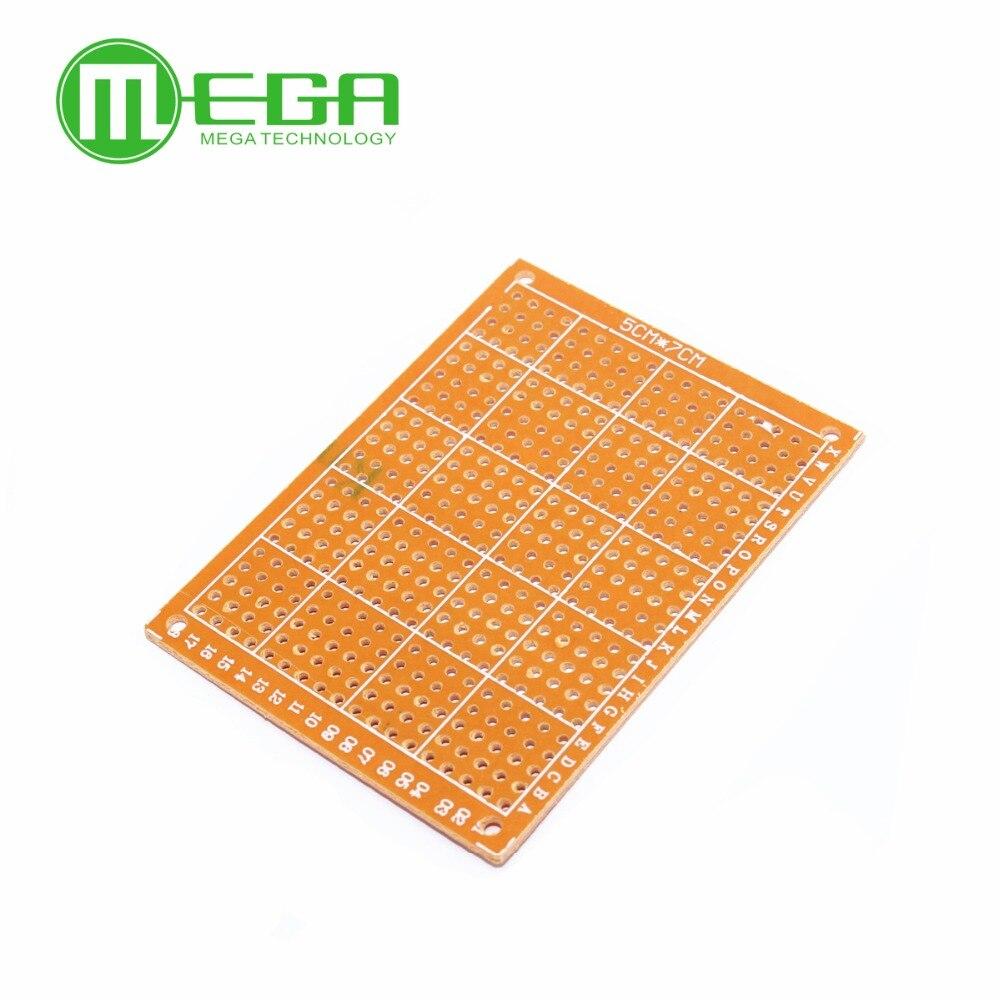 10PCSLOT DIY Prototype Paper PCB Universal Experiment Matrix Circuit Board 5x7cm